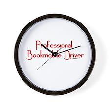 Professional Bookmobile Driver Wall Clock