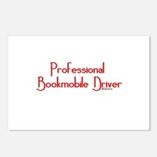 Professional Bookmobile Driver Postcards (Package