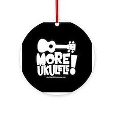 More Ukulele! Ornament (Round)