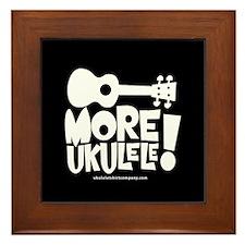More Ukulele! Framed Tile