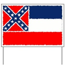 Mississippi Flag Yard Sign