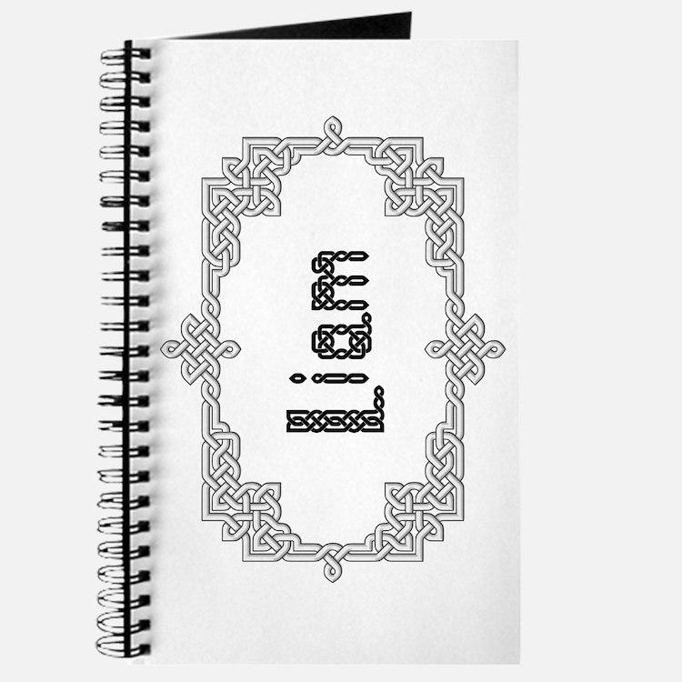 """""""Celtic Knots Liam"""" Journal"""