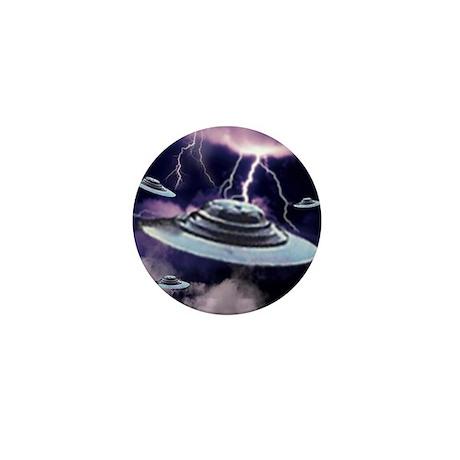 U.F.O. Storm Mini Button