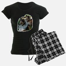 Rough Sable Collies Pajamas