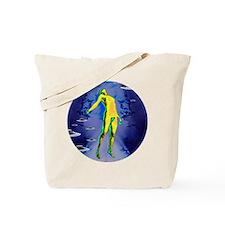 Alien Abduction Tote Bag