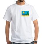 """White T-Shirt w/ """"Summer 2012"""" on back"""
