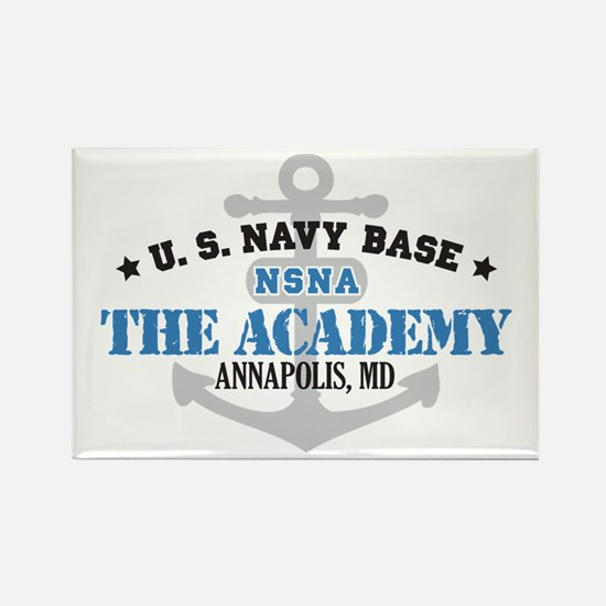 US Navy Academy Base Rectangle Magnet (10 pack)