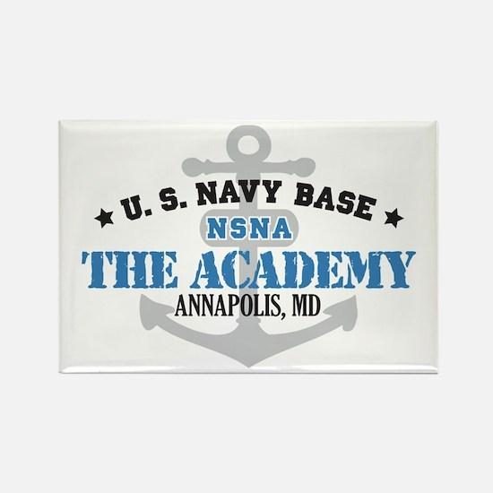 US Navy Academy Base Rectangle Magnet