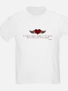 Gandhi- Heart and Soul T-Shirt