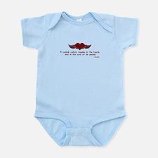 Gandhi- Heart and Soul Infant Bodysuit