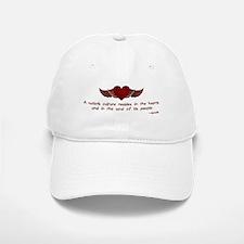 Gandhi- Heart and Soul Baseball Baseball Cap