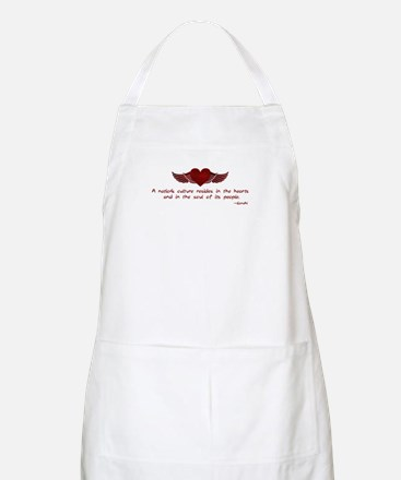 Gandhi- Heart and Soul Apron