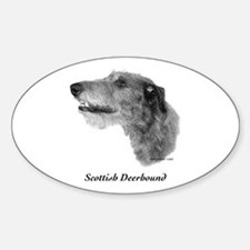 Scottish Deerhound Decal