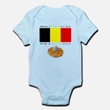Cute Belgian waffles Infant Bodysuit