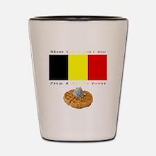 Cute Belgian Shot Glass