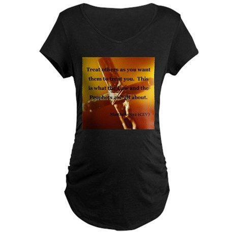 Christian Maternity Dark T-Shirt