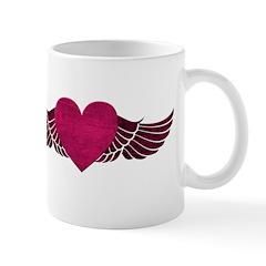 Heart with Wings Mug