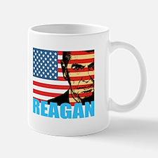 Reagan - Flag face Mug