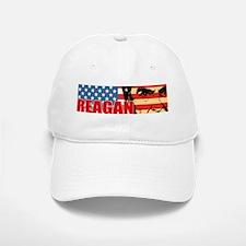 Reagan - Flag face Baseball Baseball Cap