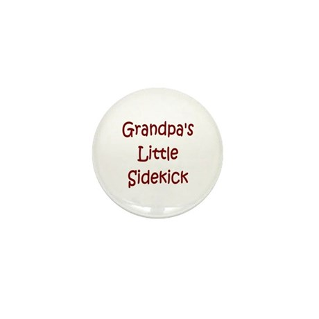 Grandpa's Little Sidekick Mini Button