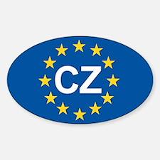 Czech Republic EU Decal