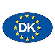 Denmark EU Decal