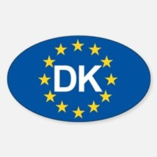 Denmark EU Decal
