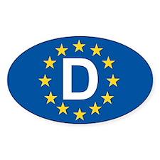 Germany EU Decal