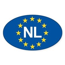 Holland NL EU Stickers