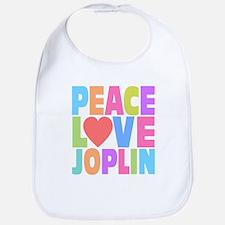 Peace Love Joplin Bib
