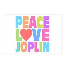 Peace Love Joplin Postcards (Package of 8)