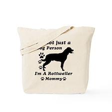 Rottweller mommy Tote Bag