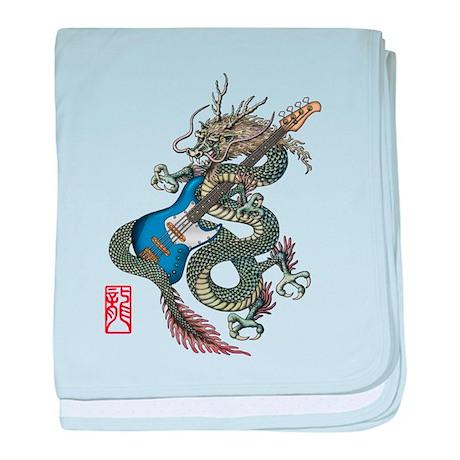 dragon bass baby blanket