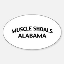 Muscle Shoals Alabama Decal