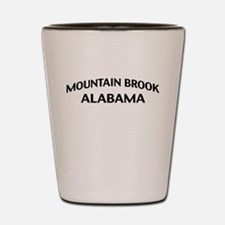Mountain Brook Alabama Shot Glass