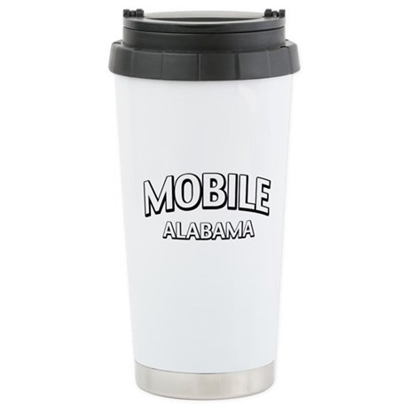 Mobile Alabama Stainless Steel Travel Mug