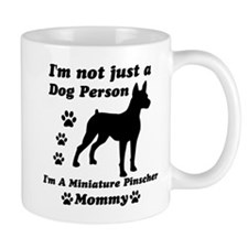 Miniture pinscher mommy Mug