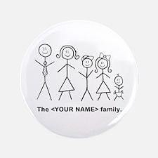 "Custom family of 5 3.5"" Button (100 pack)"