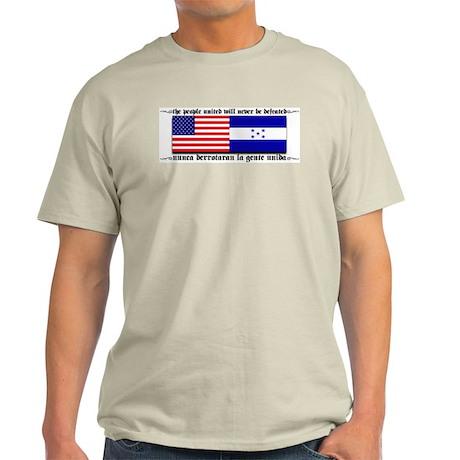 USA - Honduras Unite! Ash Grey T-Shirt