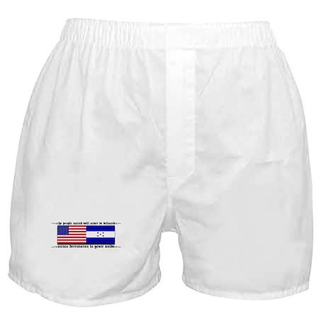 USA - Honduras Unite! Boxer Shorts