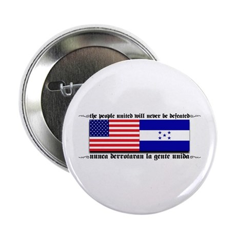 USA - Honduras Unite! Button