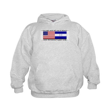 USA - Honduras Unite! Kids Hoodie
