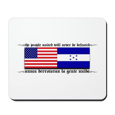 USA - Honduras Unite! Mousepad