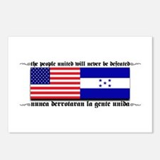 USA - Honduras Unite! Postcards (Package of 8)
