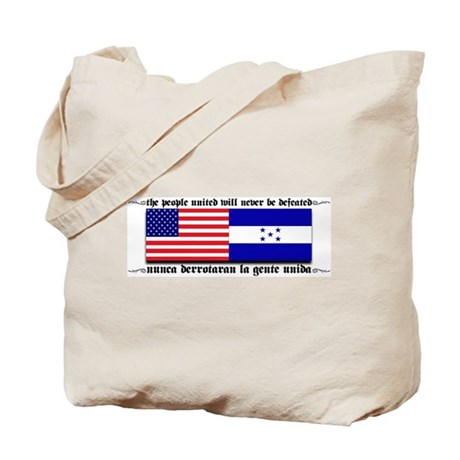 USA - Honduras Unite! Tote Bag