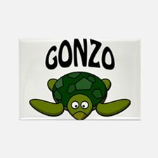 Gonzo Rectangle Magnet (100 pack)