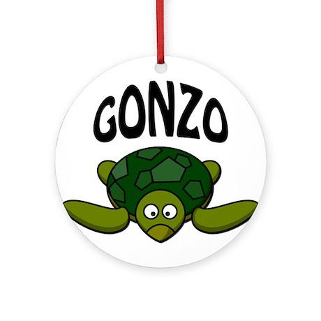Gonzo Ornament (Round)