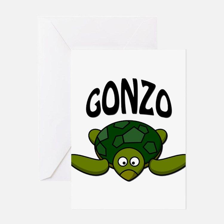 Gonzo Greeting Card