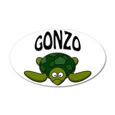 Gonzo 22x14 Oval Wall Peel