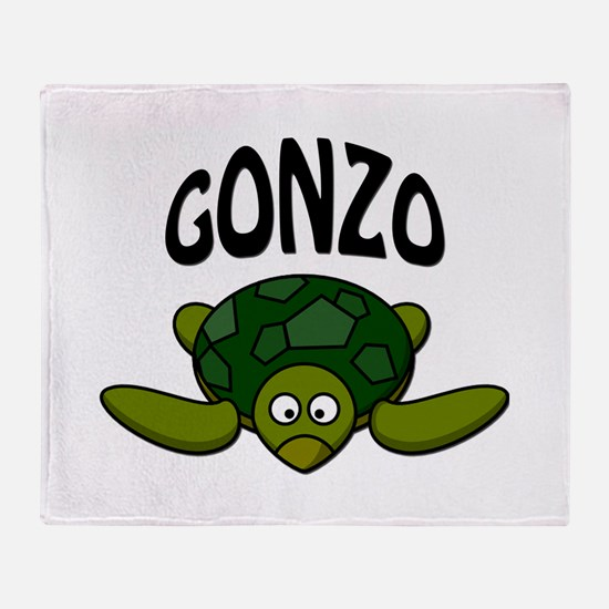 Gonzo Throw Blanket